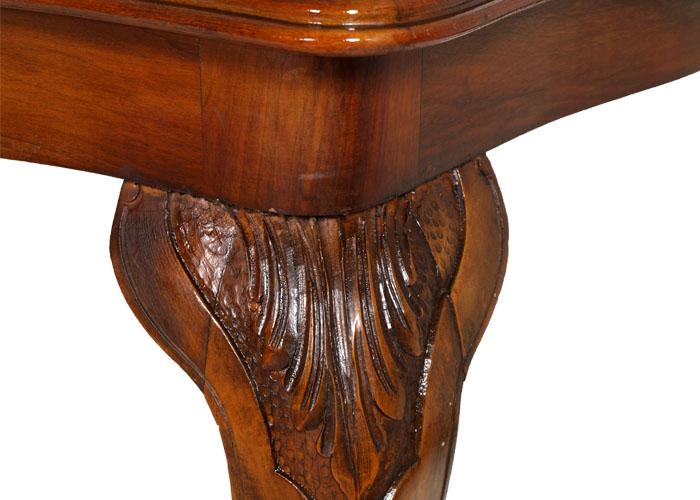 Tavolo mosso rettangolare barocco veneziano in noce restaurato lucidato ma d97 ebay - Cucina barocco veneziano ...