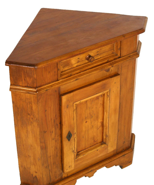 Antique country corner cabinet solid fir angoliera 39 800 tyrolean but e56 ebay - Mobile tirolese ...