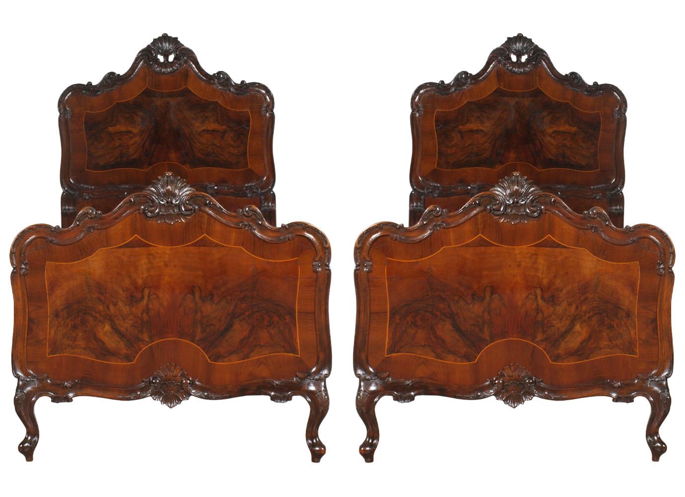 Baroque bedroom furniture antica camera da letto barocco - Camera da letto barocco veneziano usato ...