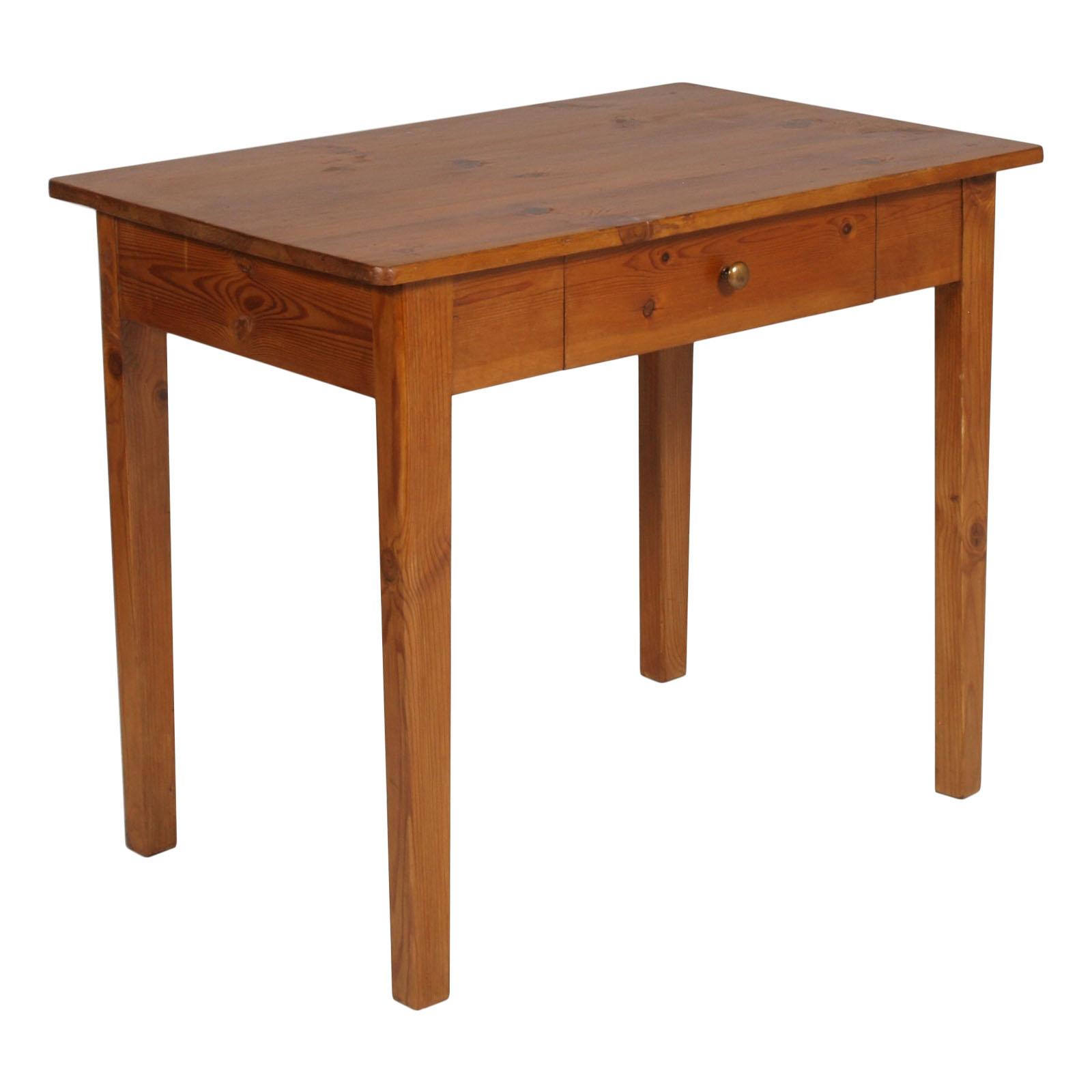 Antique country desk solid wood TAVOLINO SCRITTOIO 800 ARTE POVERA ...