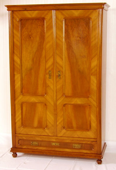 ANTICO ARMADIO GUARDAROBA LIBRERIA ANTIQUE CABINET LIBRARY WARDROBE ...
