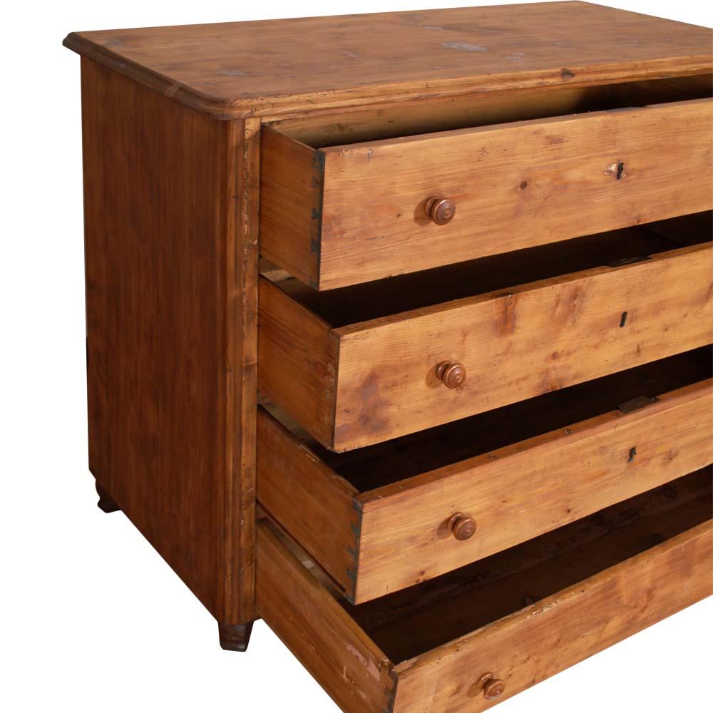 Antico como 39 cassettone abete massello primi 39 800 tirolese - Legno grezzo mobili ...