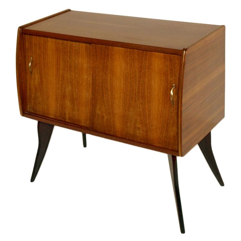 Mobile bar bar buffet cabinet ico parisi style design mid century dec ma m89 ebay - Mobile bar anni 50 ...