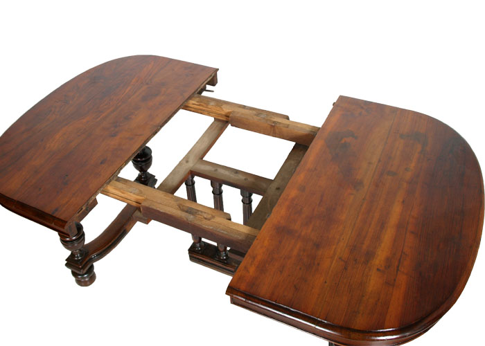 Antique extendable Empire Provençal Solid Walnut\' 800 Restored but ...