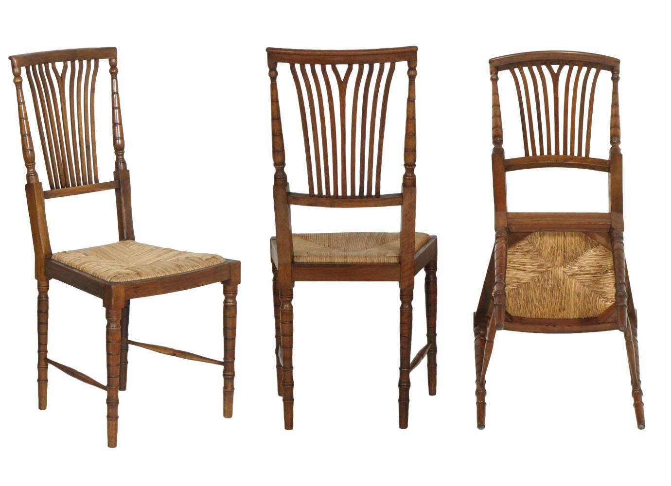 6 sedie set strong chairs chiavari leggere luigi xvi noce - Sedie capotavola ...