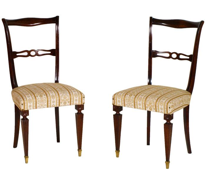 Sedie chippendale prezzo design casa creativa e mobili - Tavolo moderno sedie antiche ...