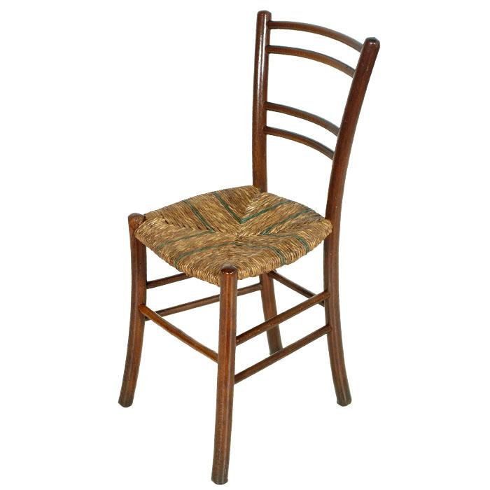 sedia design anni 50 faggio impagliata a mano mar29 ebay