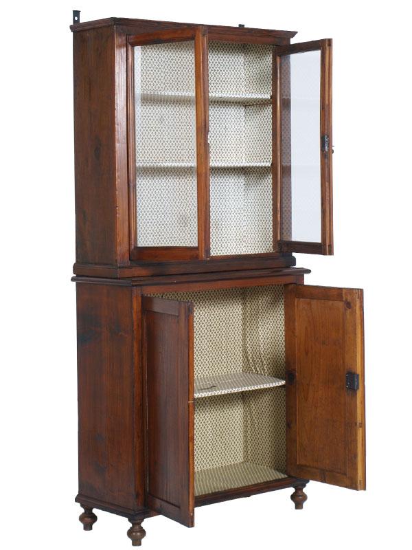 Antique sideboard display cabinet country credenza arte for Credenza arte povera mondo convenienza