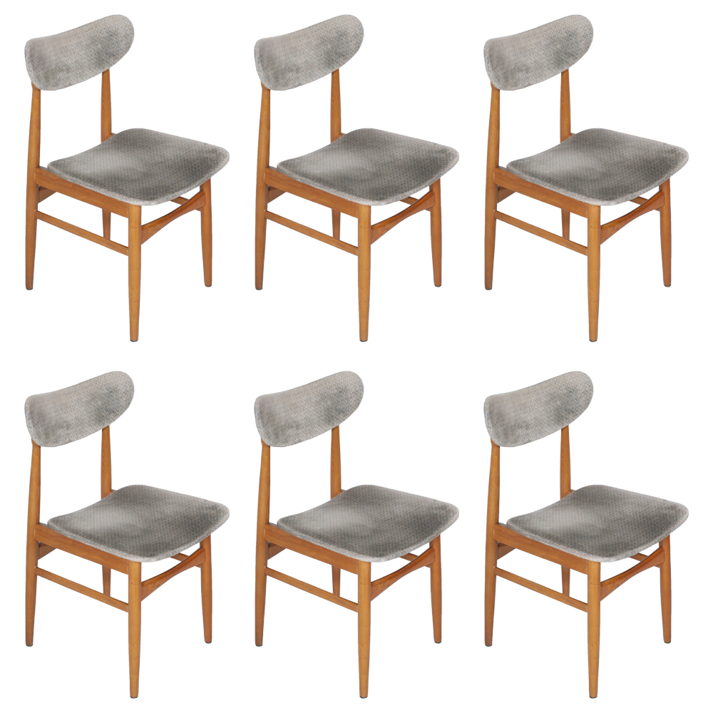 midcentury six danish chairs design peter hvidt orla