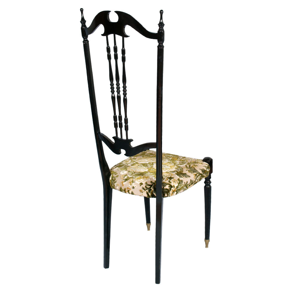 Coppia sedie chiavarine anni 50 chiavari chairs black - Sedia di chiavari ...