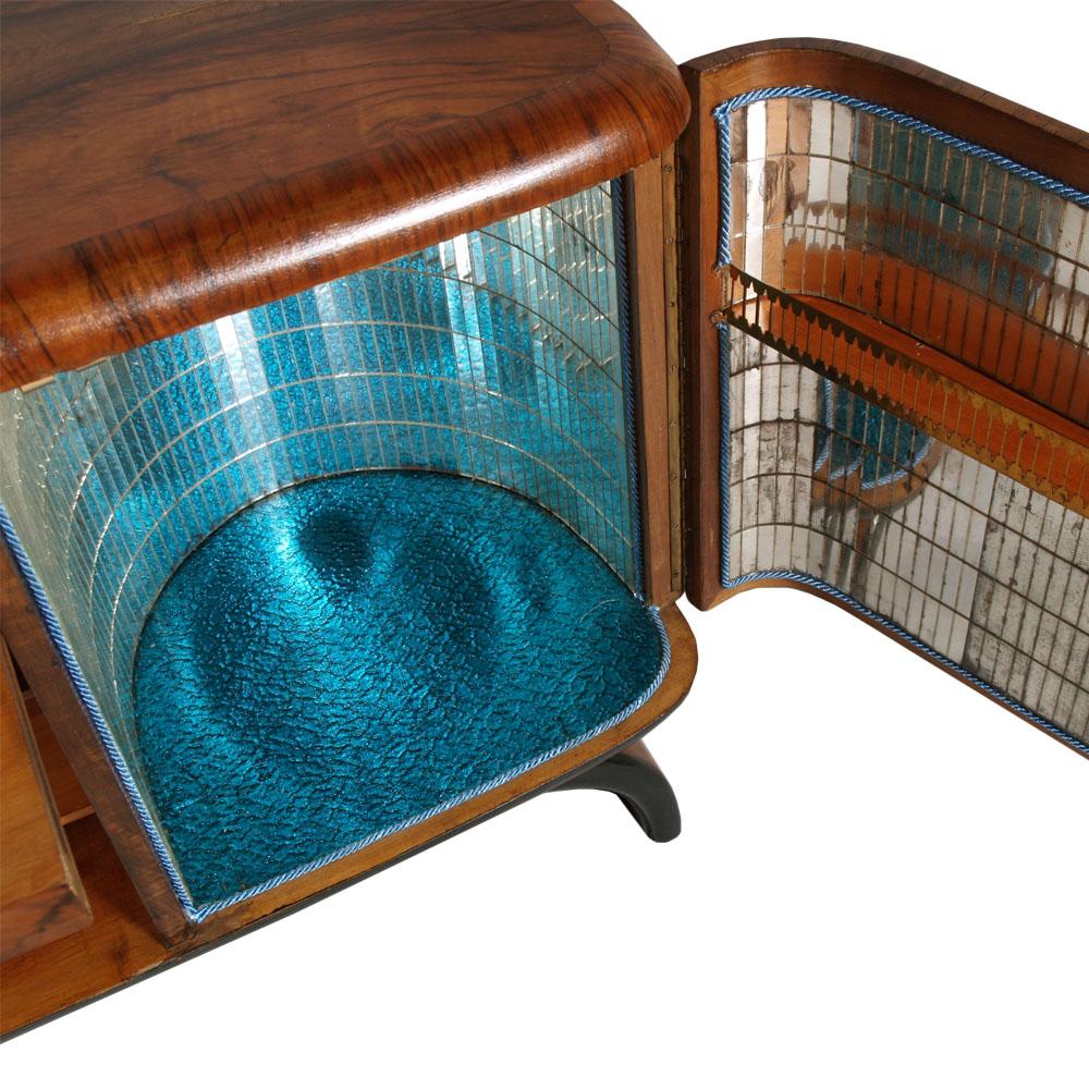 Mobile Tv Casse Integrate Caixa Miniforms : Mobili bagno in legno grezzo