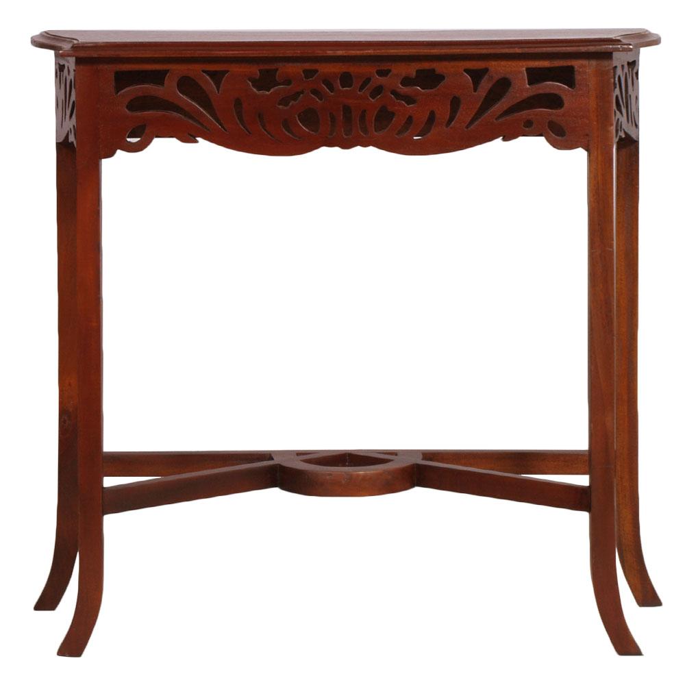 console con specchiera liberty noce art nouveau console with mirror ma s63 ebay. Black Bedroom Furniture Sets. Home Design Ideas