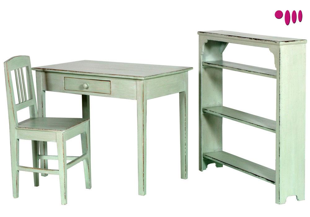 Studio shabby chic 039 800 scrittoio scrivania sedia libreria ...