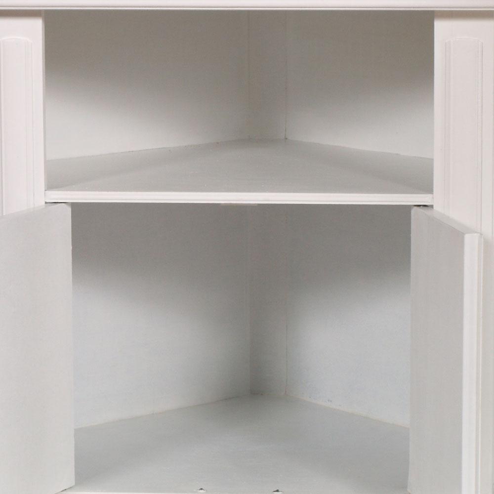 Cabina armadio shabby chic design casa creativa e mobili - Mobile ad angolo porta tv ...