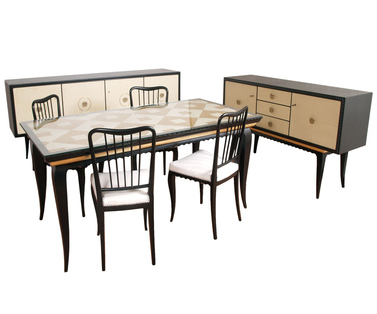 buffa mid century modern dining room furniture sets my 59 ebay