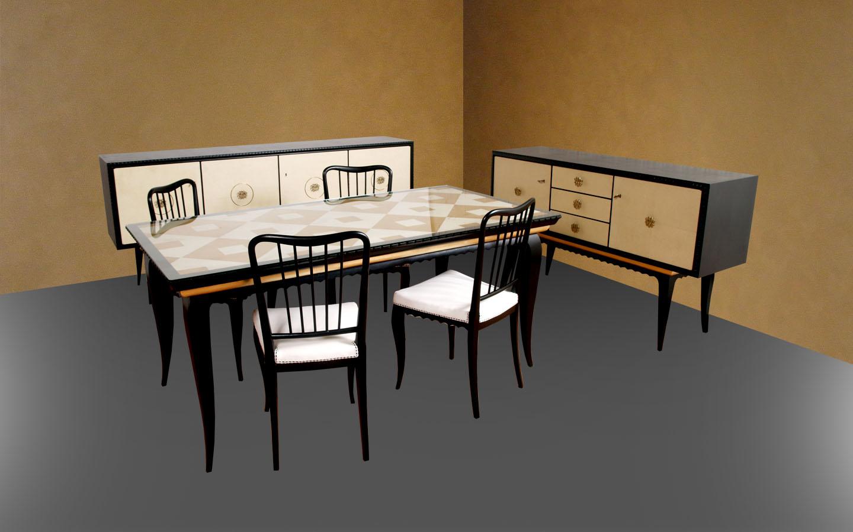 Mobili Art Deco Atelier myArtistic: Carrello bar service ottone ...
