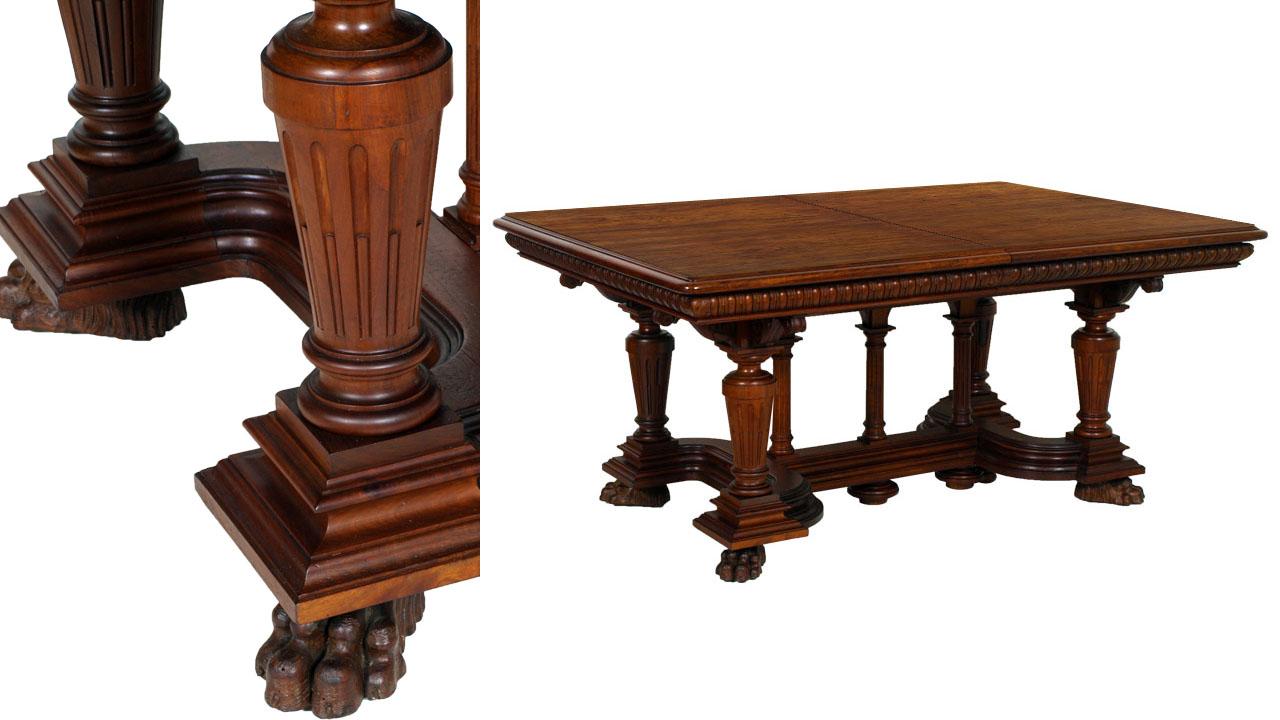 Antique Furniture Renaissance Dining Room Maq58