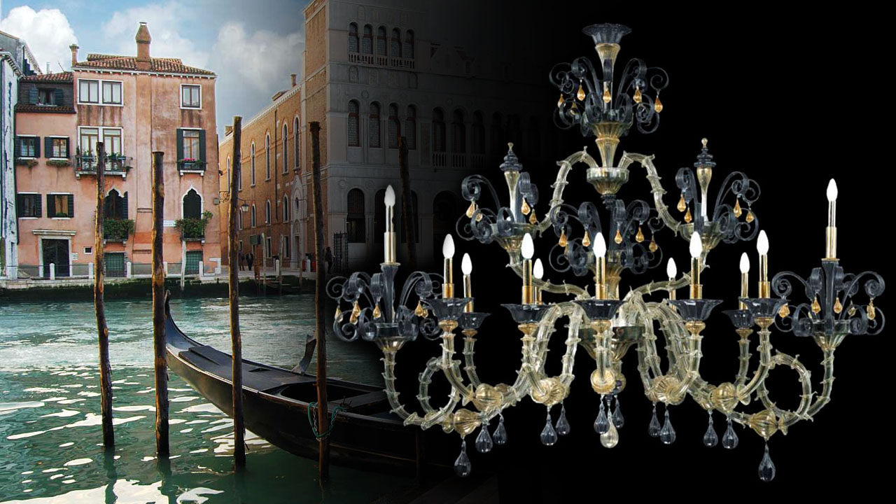 Luxury Murano Glass Chandelier Myl02 Antiques Artistic
