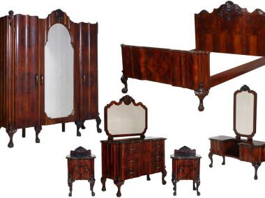 antique-chippendale-bedroom-1930s-furniture-set-MAM23-1