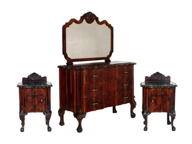 antique-chippendale-bedroom-1930s-furniture-set-MAM23-3