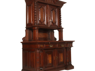 antique-dining-set-two-sideboard-cabinet-MAR45-2