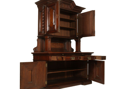 antique-dining-set-two-sideboard-cabinet-MAR45-3