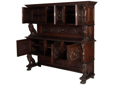 antique-renaissance-sideboard-carved-walnut-800-MAG33-2
