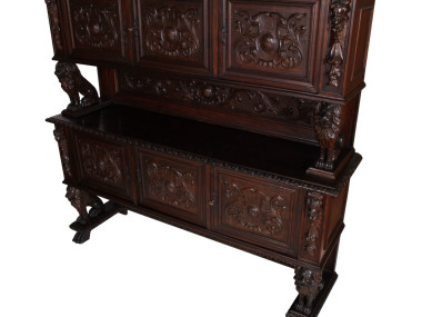 antique-renaissance-sideboard-carved-walnut-800-MAG33-3