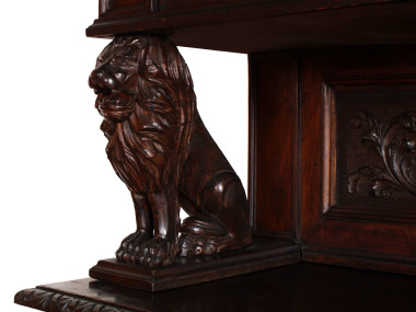 italian-antique-furniture-carved-walnut-sculptures-lion-MAG33-4