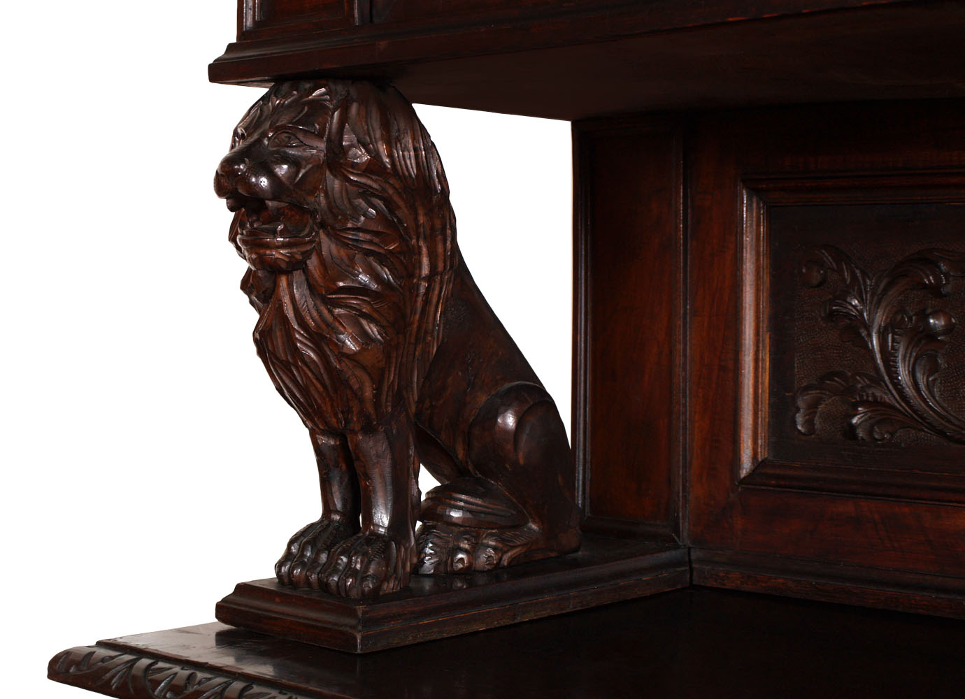 italian-antique-furniture-carved-walnut-sculptures-lion-MAG33-4
