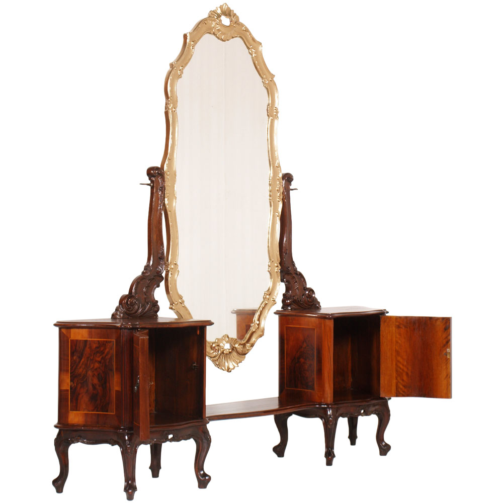 antique-chippendale-bedroom-furniture-set-MAH67-13