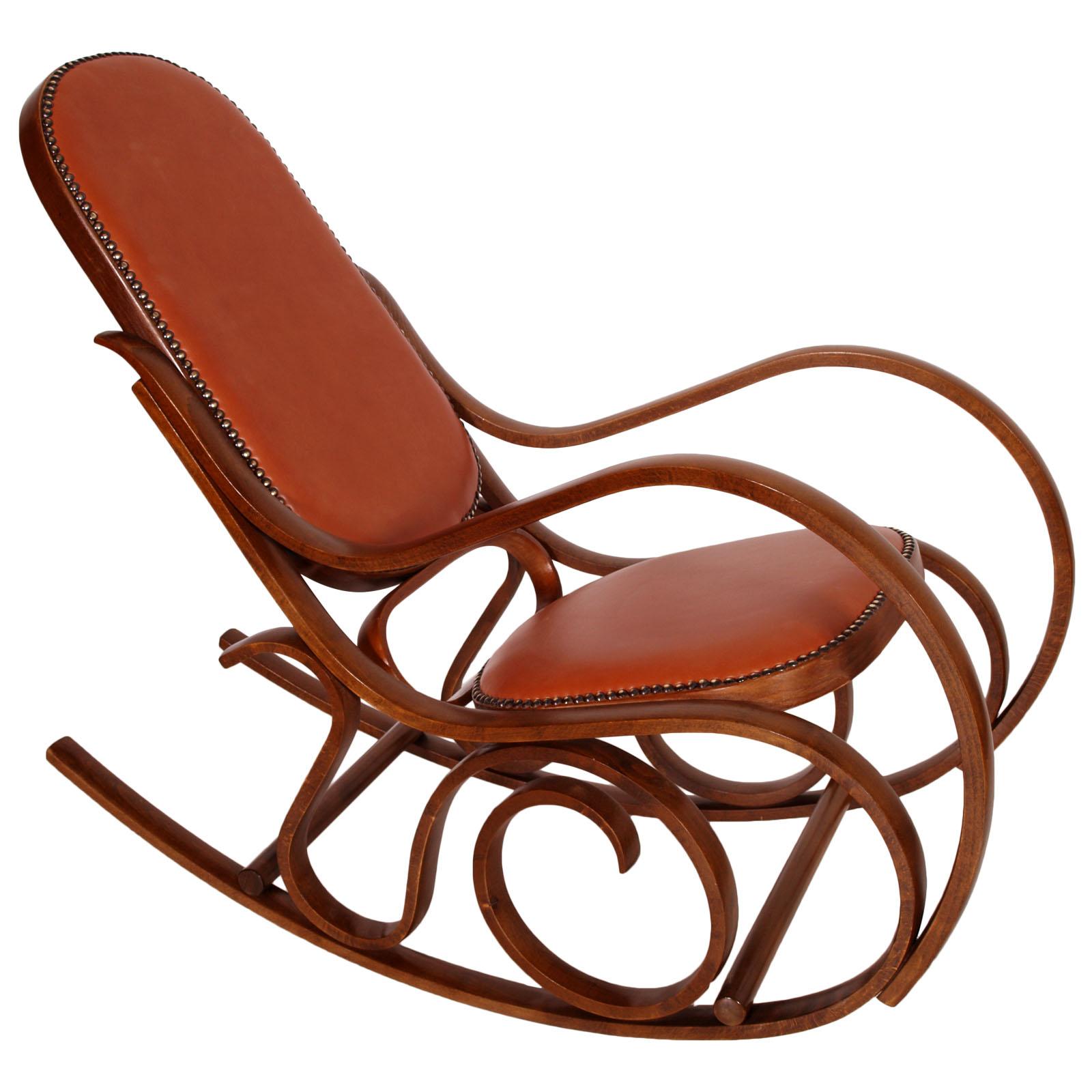 Sedia A Dondolo Thonet Originale.Sedia Poltrona A Dondolo Thonet Liberty Primi 900 Rocking Chair Ma M07 Ebay