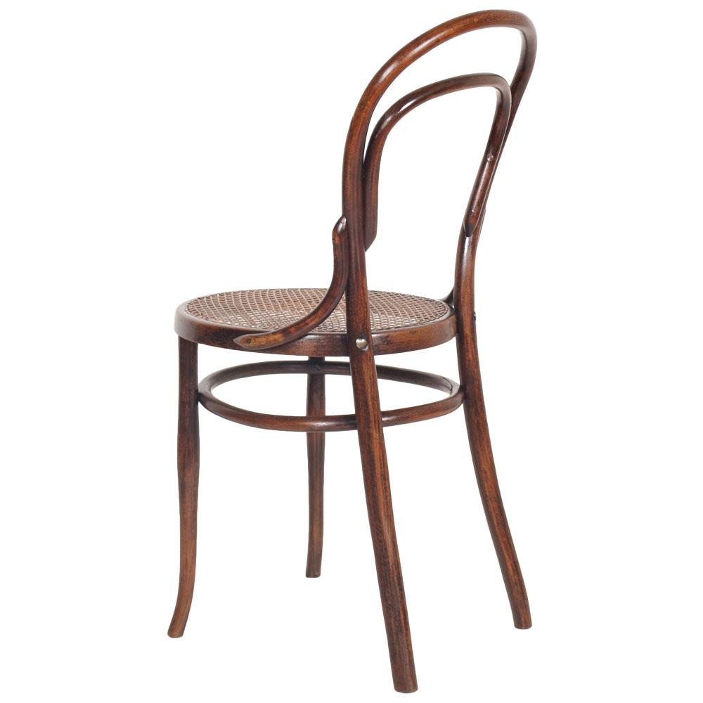 Coppia sedie thonet in faggio curvato e paglia di vienna restaurate ma r57 ebay - Sedia thonet originale ...