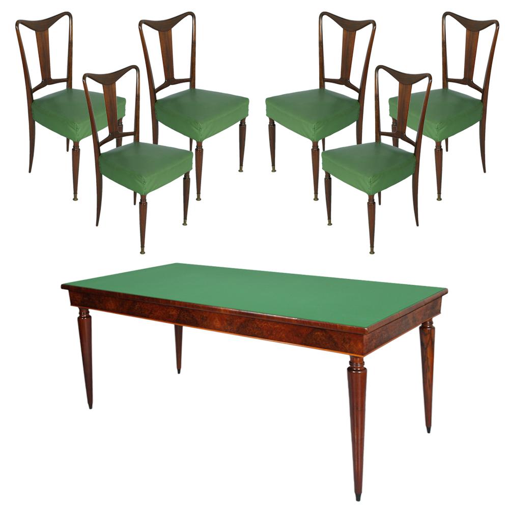 Tavolo In Vetro Con 6 Sedie.Tavolo 6 Sedie Piano Cristallo Table With Chairs Design Osvaldo