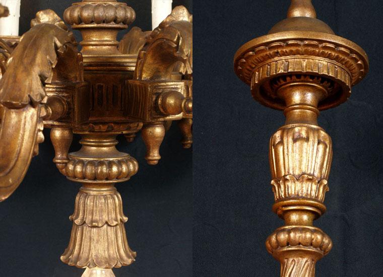 antique-gilded-wood-chandelier-LA87-3