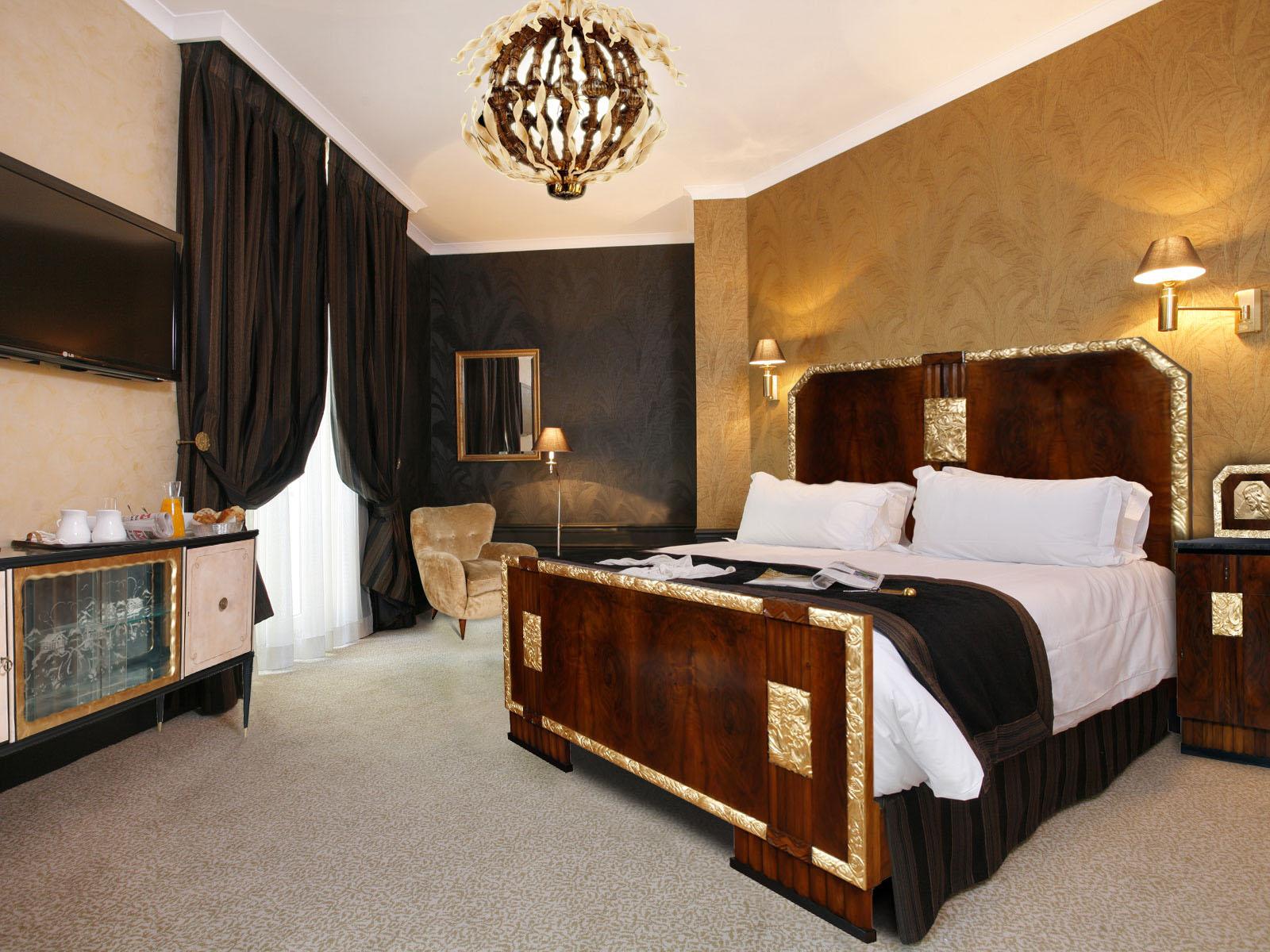 Bedroom Decorating Ideas Art Deco