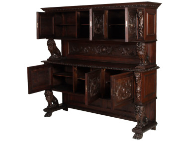 antique-renaissance-sideboard-carved-walnut-800-MAG33-2