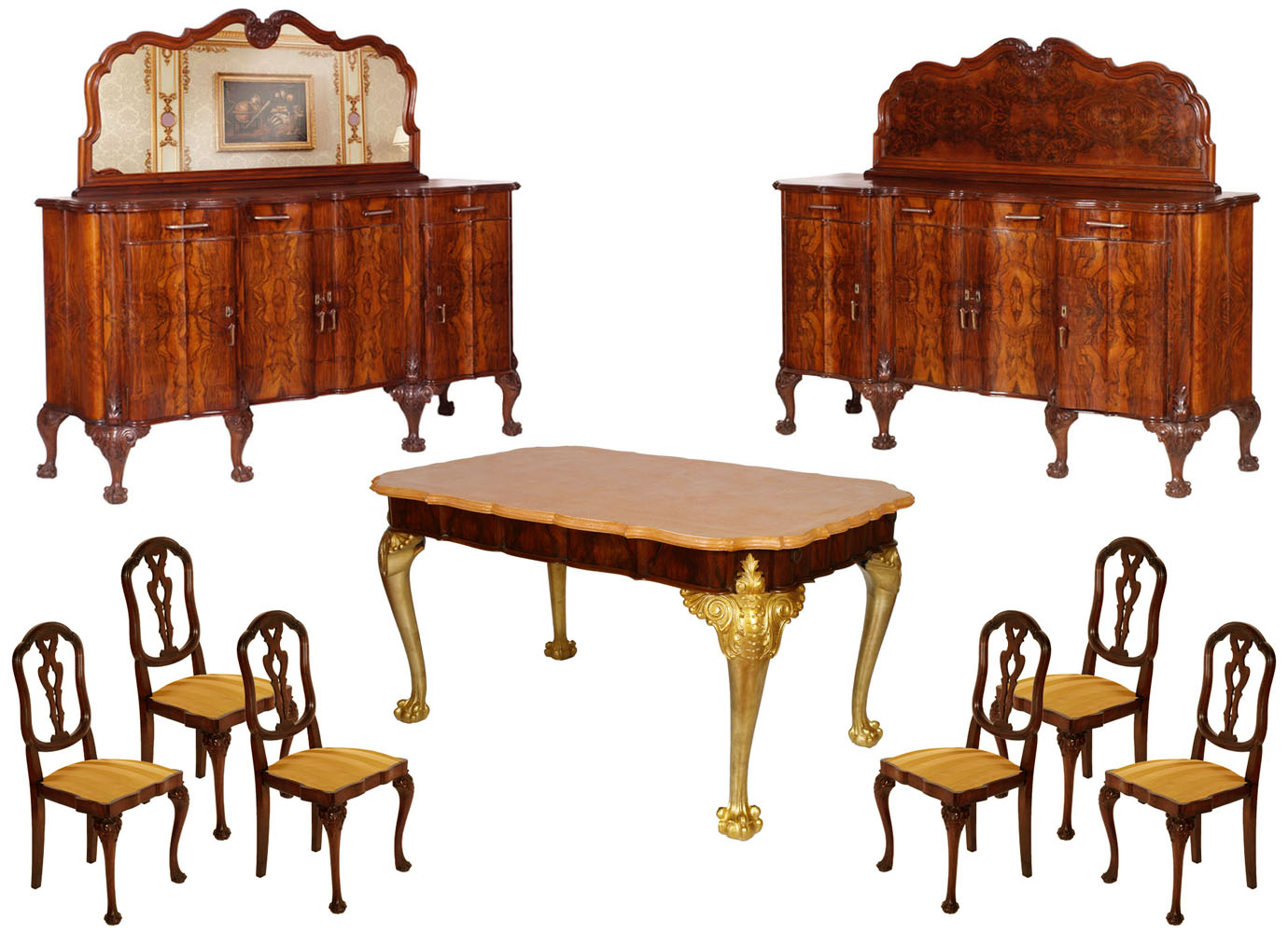 luxury-antique-baroque-dining-room-set-chippendale-MAG41-1